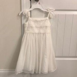 Girls Formal white dress